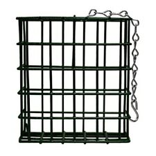 Single Metal Suet Bird Feeder Cage New