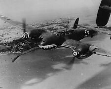 "German Twin Propelled Messerschmitt BF 110 Bomber 8""x10"" World War II Photo 492"