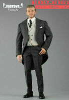 1/6 Gentleman Suit Set Royal Wedding British Tuxedo For Hot Toys Coomodel ☆USA☆