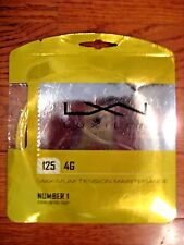 Luxilon 4G  125 (16L Guage) Tennis String - Brand New