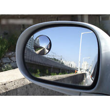 2PCS Slim Circle Blind Spot Rearview  Mirror Fit Wide Angle,For Driving Safety