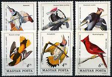 Hungary 1985 SG#3635-3640 John J. Audubon Birds MNH Set #D48260