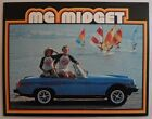 MG MIDGET orig 1978 1979 USA Mkt Sales Brochure
