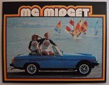 MG Midget ORIG 1978 USA Mkt opuscolo di vendita