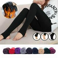8 Farben Schlanke Leggings Warme Strumpfhosen Stretch Pants Dicke Strumpfhosen