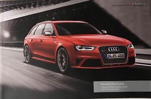 Audi RS 4 Avant Quattro Price & Specifications list 2013