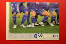 Panini EURO 2012 N. 82 HELLAS TEAM  NEW With BLACK BACK TOPMINT!!
