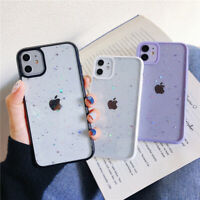 Case For iPhone 12 Pro Max 12 Mini SE 2020 11 XS XR X 8 7 Glitter Clear Cover