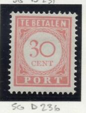 Mint Hinged Single Dutch & Colonies Stamps