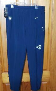 Nike Los Angeles Rams On Field Dri-Fit Flex Training Pants Men's XL AO4281-419