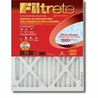 NEW 3M FILTRETE 9804DC-6 CASE OF (6) 14x25x1 AIR FURNACE PLEATED HVAC FILTERS