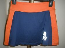 Women's Runningskirts.com Blue & Orange Running/Tennis Skirt Sz 2 (approx 4-6)