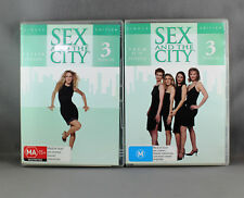 SEX AND THE CITY SEASON 3 EPISODES 1-12 SINGLE EDITION DVD (2 DVD DISC SETS)