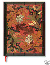 Paperblanks Lined Writing Journal Brown Allegro Autumn Symphony Ultra 7x9 New