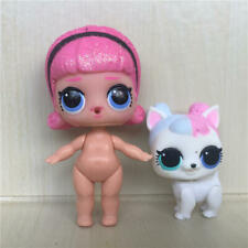 2pcs LOL Surprise Pets Doll Animals Madame Queen+Sugar Pup Puppy Dog Figure Toy