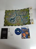 Bully Scholarship Edition : Nintendo Wii & Wii U GENUINE Video Game + Map