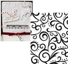Darice embossing folders SCROLL BACKGROUND Embossing Folder 1216-62   - wedding