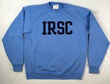 IRSC INDIAN RIVER STATE COLLEGE CHAMPION sweatshirt blue MENS LARGE L florida