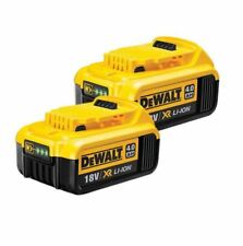 2xNEW Genuine Dewalt DCB182 18v 4.0Ah XR Li-Ion 4ah Lithium Slide Battery4000mah