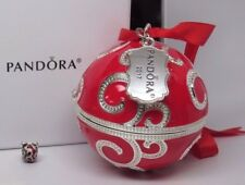 New Pandora Christmas Red Rockettes Charm w/ Ornament 2017 Ltd Ed B800641 +GIFT
