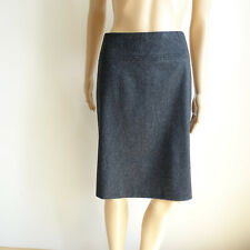 French Connection Grey Wool Cashmere Blend A-Line Skirt Size 4 Unlined