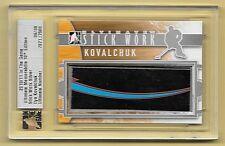 10/11 ITG Ultimate Memorabilia Silver Ilya Kovalchuk 3 Color Stick Relic #06/09