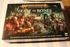 Games Workshop Warhammer Feast of Bones Boxed Game Age of Sigmar Sealed BNIB OOP