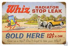 Kühler Werkstatt Whiz Radiator Werbung Auto Reparatur Retro Blechschild Schild