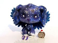 Littlest pet shop Ooak Cocker Spaniel Dog Galaxy Space Custom Made Lps Figure