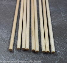 WWS BALSA WOOD DOWEL  5mm x 9 lengths of 12 inches (A17)