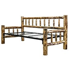 Rustic Day Beds LOG Daybed Amish Made Rustic Sofa Bed Twin Couch