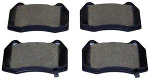 Disc Brake Pad Set-Total Solution Semi-Metallic Brake Pads Front Monroe DX960A