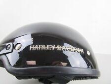 Harley Davidson Motorcycle Half Helmet - Medium