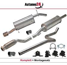 Auspuffanlage ab Kat Peugeot 207 (WA_,WC_) 1.4, 1.6 16V Schrägheck Auspuff 2006-