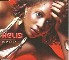 KELIS & NAS n Public w/ RARE RADIO EDIT Europe CD Single SEALED USA seller 2005