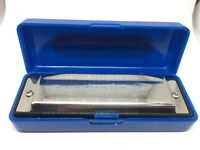 Pure Tone Blues Harmonica In the Key Of C With Case Diatonic Mouth Organ