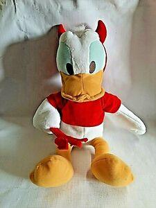 Sega Disney Plush Donald Duck Devil Costume Stuffed Animal Halloween Series USED