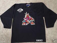 Jeremy Roenick #97 Arizona Phoenix Coyotes NHL CCM Hockey Black Jersey LG L