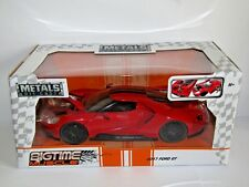 JADA 2017 FORD GT RED WITH BLACK STRIPES 1/24 99391