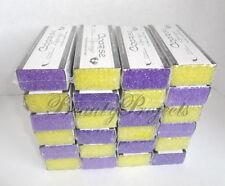 24pcs Long Pumice Bars Coarse Sponge Removes Tough Callus for Nail Salon Use