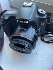 Canon EOS 60D 18.0MP Digital SLR Camera - Yongnuo 50mm F1.8 II Prime Lens 50k SC
