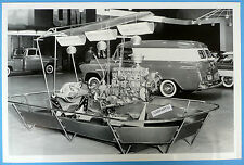 """12 By 18"""" Black & White Picture 1955 Chevrolet Motorama Display"""