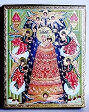 Ikone GM hinzufügung des Verstands икона Богородица Прибавление ума 12x10x2 см