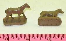 New Lionel 9895-31 Operating Horse Figure - Brown - 2 Pieces