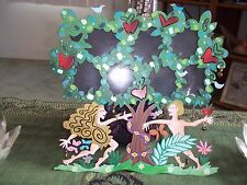 Fanciful Flights KarenRossi Silvestri Picture Frame Tree Of Life Adam Eve Whimsy