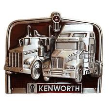 KENWORTH TRUCKS Truck Drivers Move the Nation Belt Buckle American Punk