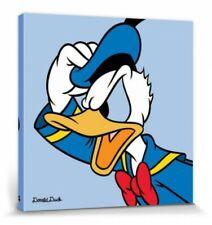 Donald Duck -Profil Walt Disney Comic Poster Leinwanddruck Bild (40x40cm) #73969