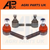 2x David Brown 1390 1394 1410 Tractor Steering + Track Rod End Joint 4WD L&R Kit