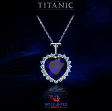 Titanic Heart Movie Prop Collectible Birthday Gift Necklace Mother's Day USA