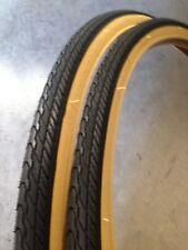 {2x} 700x35c Gumwall Bicycle Tires:Fixie,Hybrid,Track